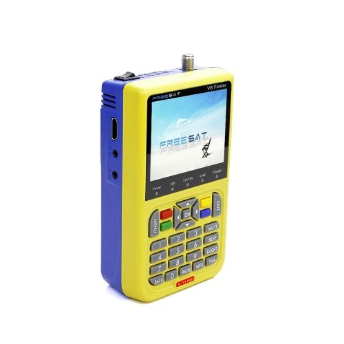 FREE SAT V8 TV Signal Finder Meter