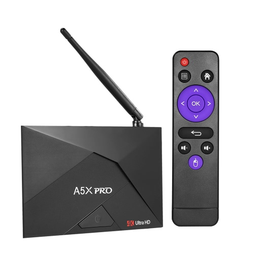 A5X PRO Smart Android 7.1 TV Box RK3328 2G / 16G