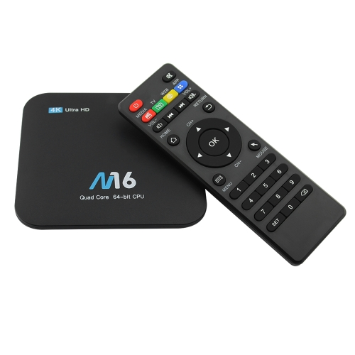 M16 Android 7.1 TV-Box Amlogic S905X 1 GB / 8 GB EU Stecker