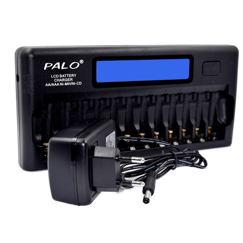 Универсальное интеллектуальное зарядное устройство PALO PL-NC30