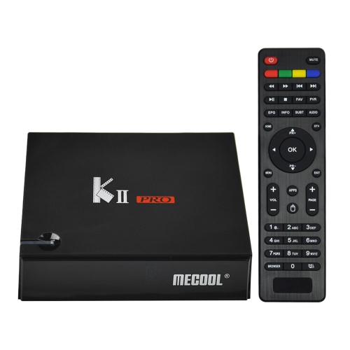 MECOOL KII PRO Android TV BOX + DVB-S / S2 и DVB-T / T2 и DVB-C STB