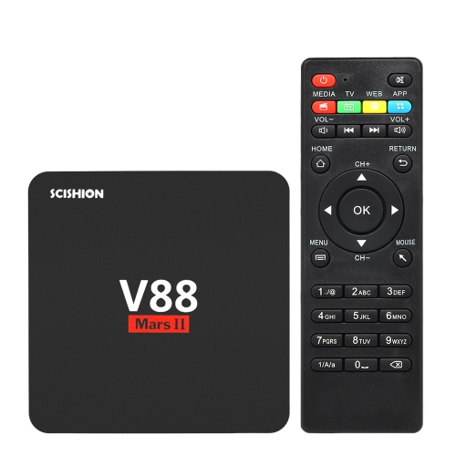 SCISHION V88 Mars II Android TV Box 2GB + 16GB