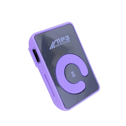 Mini Mirror Clip MP3 Player Portable Fashion Sport USB Digital Music Player Micro SD TF Card Media P