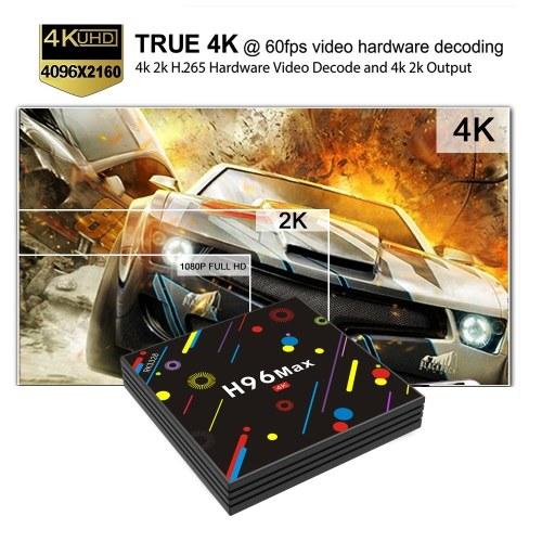 RK3328-UHD-VP9-H.265-HDR10-2.4G & 5G WiFi-100M LAN-BT 4.0-DLNA-Miracast-Airplay