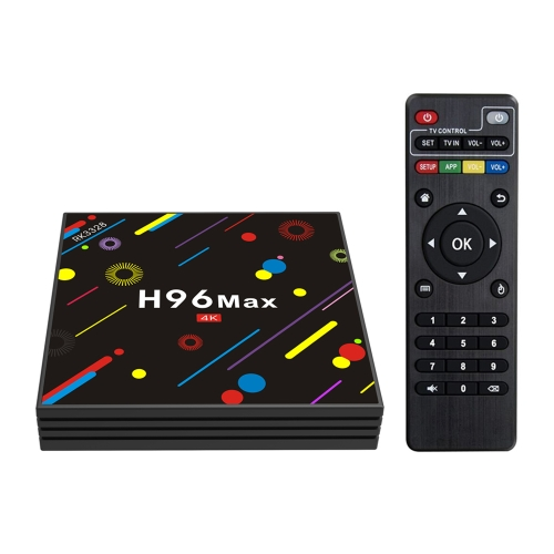 H96 Max-H2 Android 7.1 TV Box 4Go / 32Go 4K HD