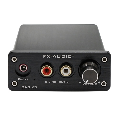 FX-AUDIO DAC-X3ファイバUSBデコーダ24ビット192Khz