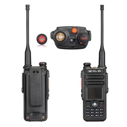 Walkie Talkie de duas vias Retevis RT82 com GPS
