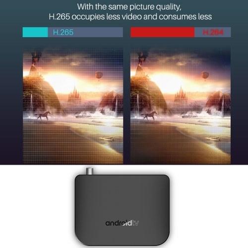 MECOOL M8S PLUS DVB Android TV BOX + DVB-T/T2 Set-top Box STB Android 7 1 2  Amlogic S905D Quad-core 1GB/8GB 4K WiFi LAN H 265 Airplay Miracast HD