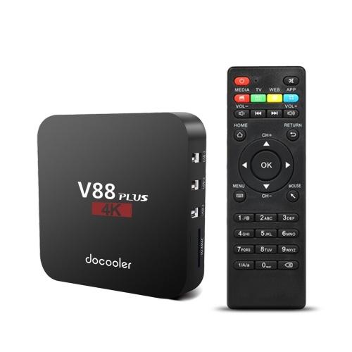 Docooler V88 Plus Android 8.1 TV Box 2GB / 16GB 1080P