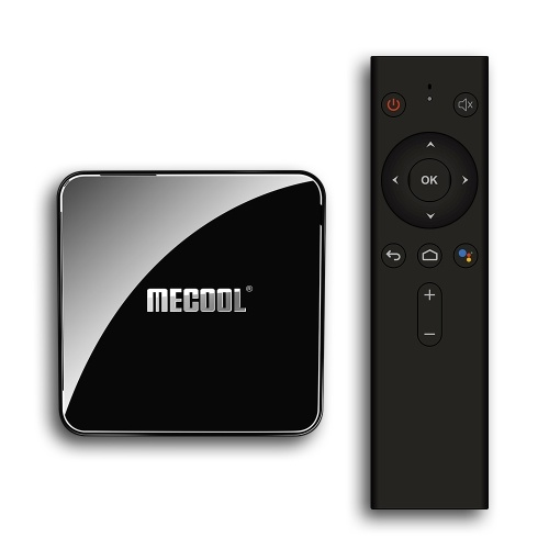 MECOOL KM3 Smart Android 9.0 TV Box Media Player Amlogic S905X2 4GB+64GB Dual Wifi Bluetooth 4.0 Voice Remote Control Miracast Airplay