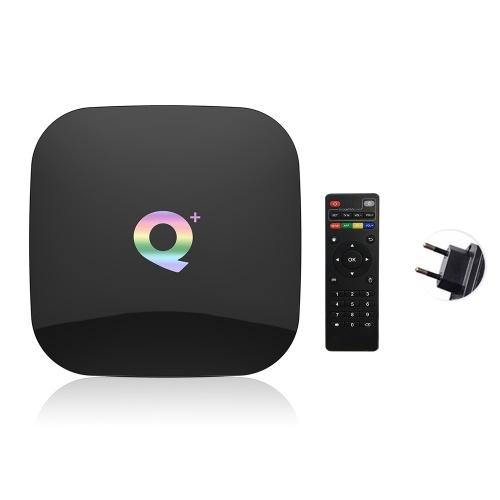 Q Plus Smart TV-Box Android 9.0 Allwinner H6 4 GB / 32 GB 6K H.265 Media Player USB3.0 2,4 G WiFi Set-Top-Box