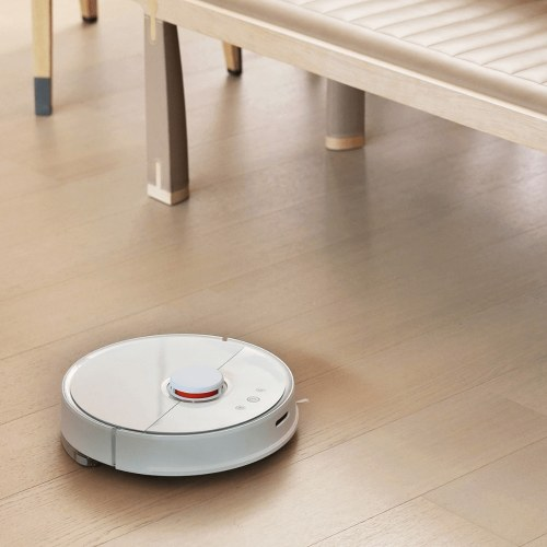 Xiaomi Mijia Rock Household Mopper SmartHome Vacuum Cleaner Self-charging Dust Collector Robot Pet Hair S50 Remover Floor-cleaning Detect Path-plan Remote APP