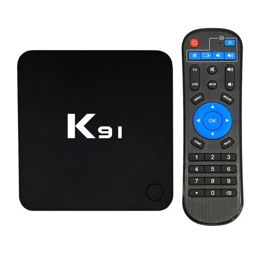 K91 smart tv box android 7.1 s905l quad core 64 bit 1 gb + 8 gb uhd 4 k media player vp9 h.265 2.4g wifi