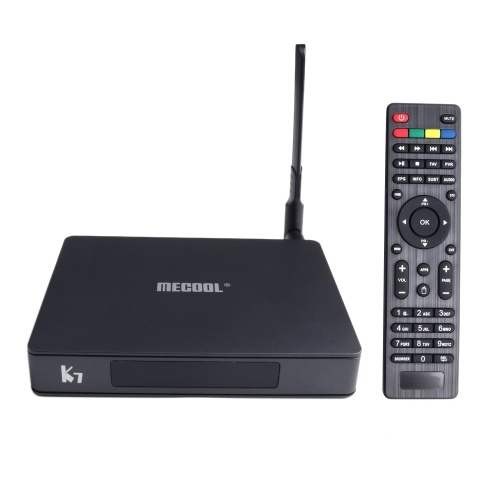 K7 Smart TV Box DVB-S2 & DVB-T2/T & DVB-C Set-top Box Android 9.0 S905X2 64 Bit 2.4G+5G Dual-band WiFi BT4.1 UHD 4K VP9 H.265 4GB/64GB