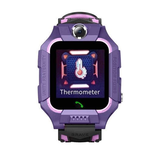 Crianças inteligentes Assista Meninos Meninas Despertador Tela Sensível Ao Toque À Prova D 'Água Relógio de Pulso Lanterna Digital SOS Alarme Localização Remota Termômetro Relógio
