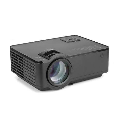 Proiettore LCD SD150 LED 1080P Home Theater 2400 lumen Rapporto di contrasto 1000: 1 con porta USB VGA HD