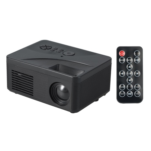 LCD LED Projector 400 Lumens Mini Portable Video Projector