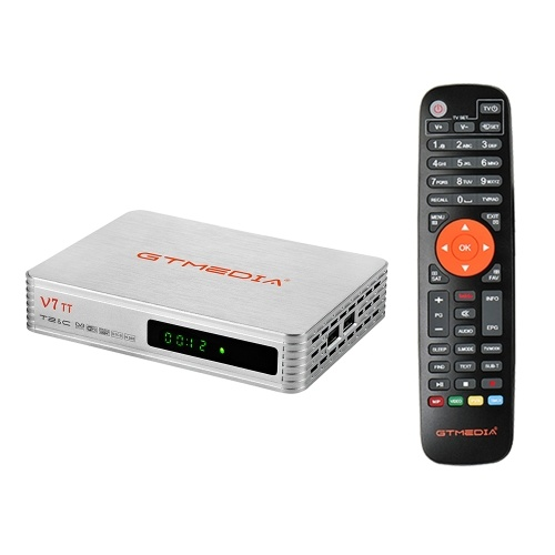 GTMEDIA V7 TT TV Receiver 1080P Full HD DVB-T/T2/Cable/J.83B Support Multi PLP Support USB PVR Ready