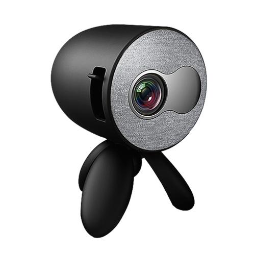 Mini proiettore LED YG220 480 * 272 pixel Supporto per proiettore portatile 4K 1080P Full HD Android Beamer TV USB AV TF Card Audio Home Media Video Player