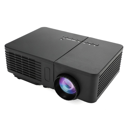 Mini LED Projector Full HD 1080P Home Cinema Theater Projection Machine Support PC Laptop Multimedia Player for Business Education Training & Home Entertainment