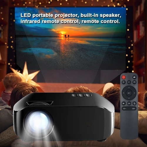 F10 LED Projector For Home Beamer Full HD 1080P Mini Home Cinema Theater Projection Machine Wireless