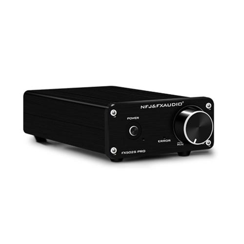 FX-AUDIO FX502S PRO HIFI Amplificador digital Mini Amp de áudio estéreo 80W * 2 4-8 ohm Sound Power Receptor de áudio AMP estéreo para home theater