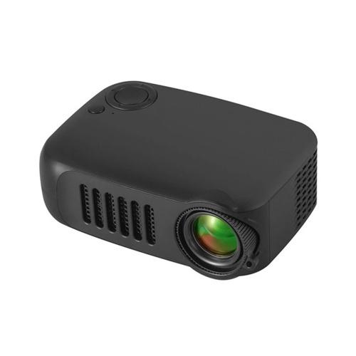 Mini projetor USB Projetor de vídeo portátil com tela LCD para filmes de desenho animado Projetor de telefone doméstico de bolso pequeno para home theater Projetor de filmes ao ar livre com interfaces USB HD para laptop