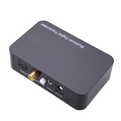 Wireless BT Digital transmissor Digital som áudio decodificação ótica Coaxial 3,5 milímetros áudio som de transmissão para televisão Blu-ray DVD inteligente telefones computadores