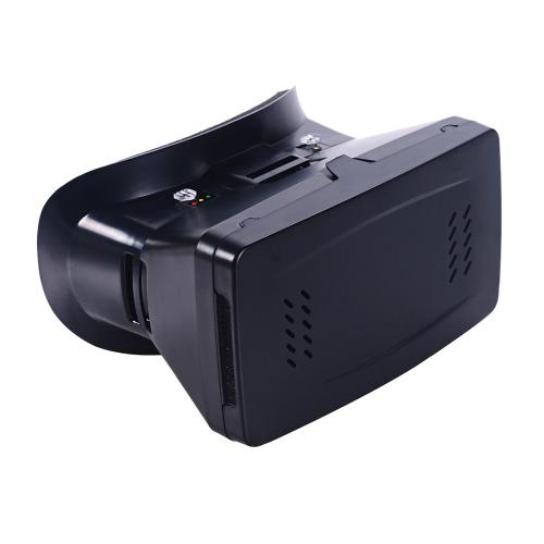 Versão portátil de plástico 3D VR óculos de realidade Virtual DIY 3D VR vídeo óculos com correia de mão interruptor magnético para todos 3.5 ~ 6.0