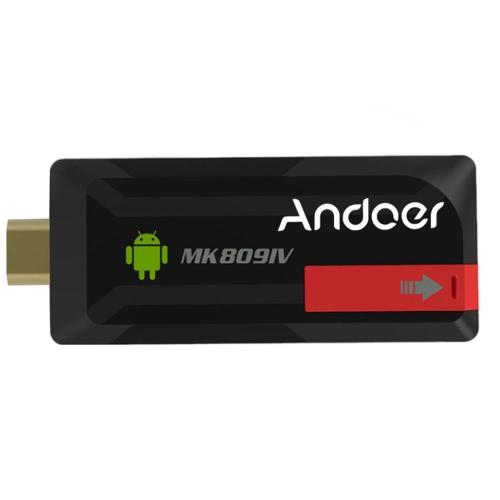 Cafago coupon: Andoer MK809IV Mini PC TV Dongle Stick Android 4.4 2G/16G XBMC Bluetooth 4.0