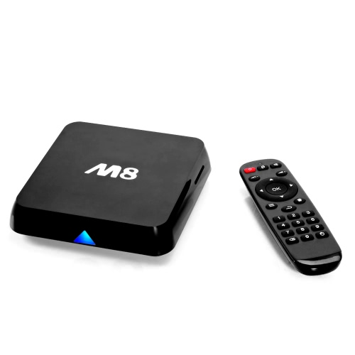M8 Android 4.4 TV Box Amlogic S802 Quad Core Cortex-A9 1G / 8G XBMC DLNA Miracast AirPlay 4K * 2K 5.0G / 2.4G Dual Band Wi-Fi Bluetooth 4.0 Smart Media Player with Remote Controller