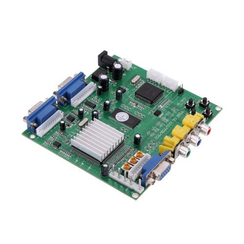 GBS-8220 V3.0 High Definition CGA / EGA / YUV zu VGA (2 * VGA) Video Converter Vorstand