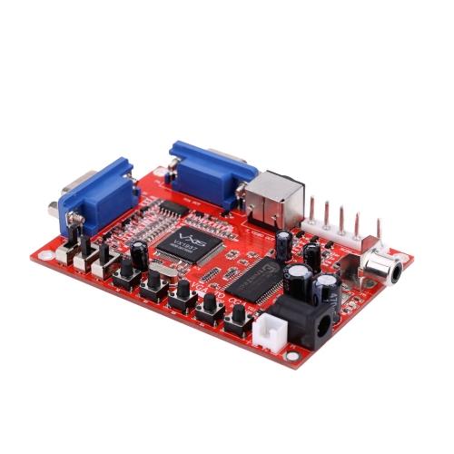 Портативный конвертер GBS-8100 VGA в CGA / CVBS / S-VIDEO с высоким разрешением