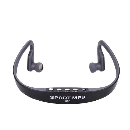 Portable Sport Wireless TF FM Radio Headset Headphone Earphone Music MP3 Player with Mini USB Port thumbnail