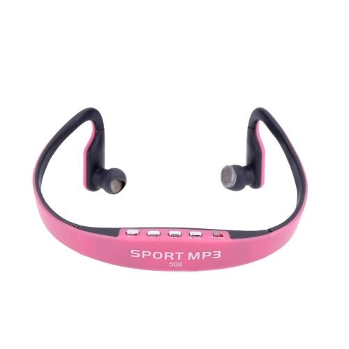 Портативный спортивный беспроводной TF FM-радио наушники музыка MP3 плеер с Mini USB-порт