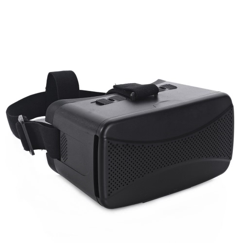 CST-06 Google Cardboard Version 3D VR Glasses Virtual Reality DIY 3D VR Video Movie Game Glasses Head Mount with Headband for iPhone Samsung / All 4.0 ~ 6.0