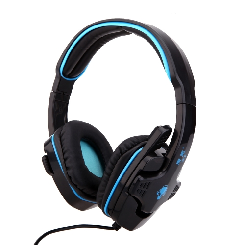 Professional Gaming Game Hifi Stereo Headphone Headset Earphone with Mic 3.5mm Plug for CS DOTA2 PC Computer Laptop Notebook
