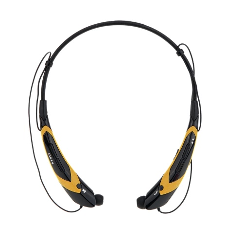 HV-760 Neck-strap Style In-ear Wireless Outdoor Sport Stereo BT 4.0 + EDR Music Headphone Earphone Headset Hands-free with Microphone for iPhone 6 Plus 6 5S LG Samsung S5 S4 HTC Tablet PC