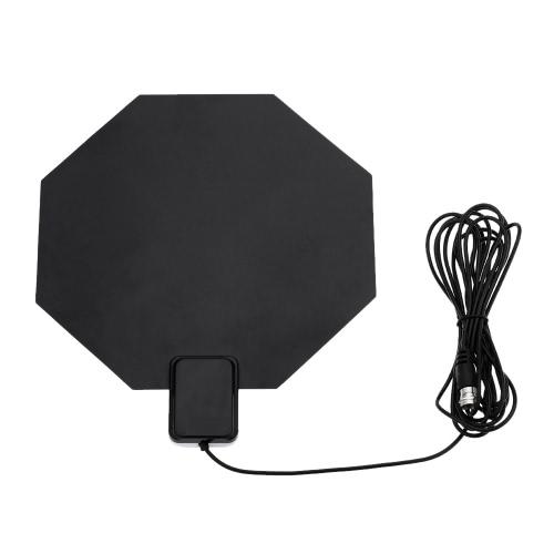 andoer num rique int rieure tv hdtv dtv antenne plate design soutenez la r ception de signaux. Black Bedroom Furniture Sets. Home Design Ideas