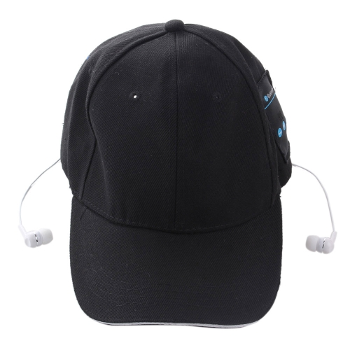Best-selling Popular Fashionable Bluetooth 3.0 + EDR Music Hat Topee Stylish Sport Sun-bonnet / Peaked Cap / Casquette & Bluetooth Headset Headphone Earphone 2-in-1 Supports Hands-free Talking for Smart Phones Tablet PC