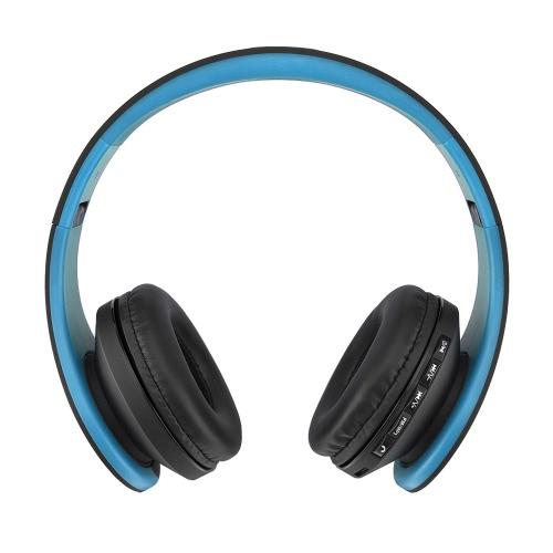 Andoer LH-811 4 em 1 fone de ouvido BT sem fio EDR com microfone