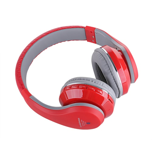 STN-09 4 in 1 Multifunctional Wireless Stereo Bluetooth Headphone Earphone Headset hands-free Call Bass with Mic MicroSD / TF Slot MP3 Player FM Radio EQ 3.5mm Wired Headphone for Smart Phones iPhone 6 / 6 Plus iPad PC Samsung Tablet PC Notebook