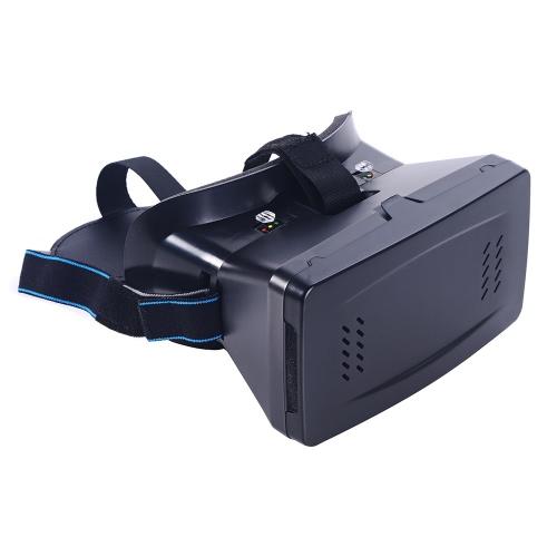 Портативный Head-Mounted Google картон версии 3D VR очки виртуальной реальности DIY 3D VR видео с магнитный переключатель Movie игра 3D-очки с ЧСЗ-01 Мини Многофункциональный беспроводной BT V3.0 Selfie камеры затвора джойстика для iPhone Samsung / все 3.5 ~ 6.0» смартфоны