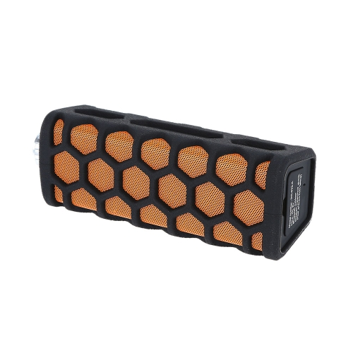 HOLAAM DC-329 Stylish Outdoor Water-Resistant Water-proof Wireless Stereo Bluetooth Speaker Hands-free with 3.5mm AUX Audio Port for iPhone6 Plus 6 Samsung Galaxy S6 S5 / Note 4 Notebook Tablet