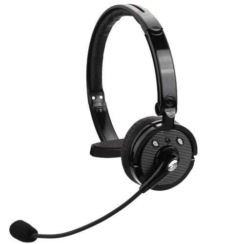 BH-M10B Over-The-Head Boom Mono multi-point sans fil BT casque Casque Ecouteur mains-libres avec micro pour téléphone intelligent portable Bureau Tablet PC Truck Driver PS3