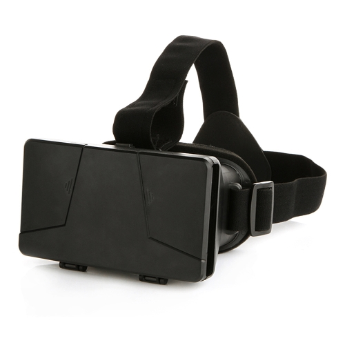 Head-mounted Universal 3D VR Glasses Virtual Reality Video Movie Game Glasses with Headband for Google Cardboard iPhone 6 Plus Samsung S5 S4 All 4 ~ 6