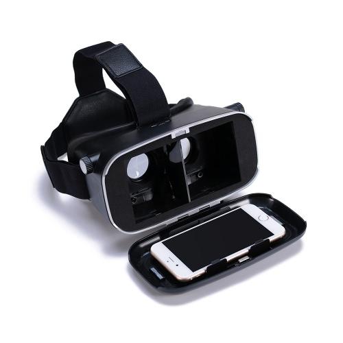 Andoer CST-09 versão 3D VR óculos Virtual Reality DIY 3D VR vídeo filme jogo óculos cabeça montar com Headband para iPhone Samsung / 4.0 todos ~ 6.0