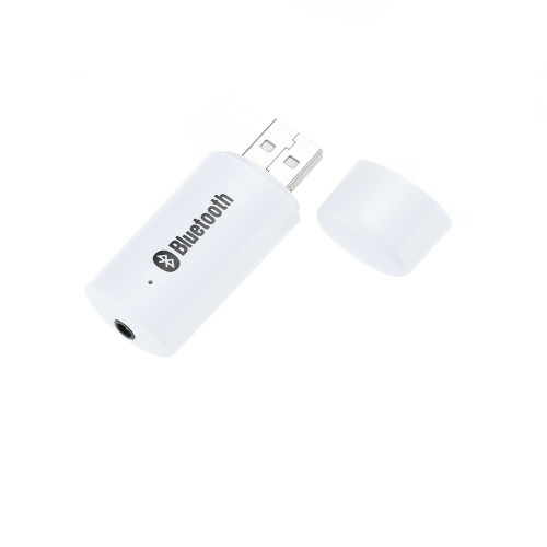 Mini Portable USB 3.5mm Audio Wireless BT Music Audio Receiver Adapter Car Stereo Home Audio System