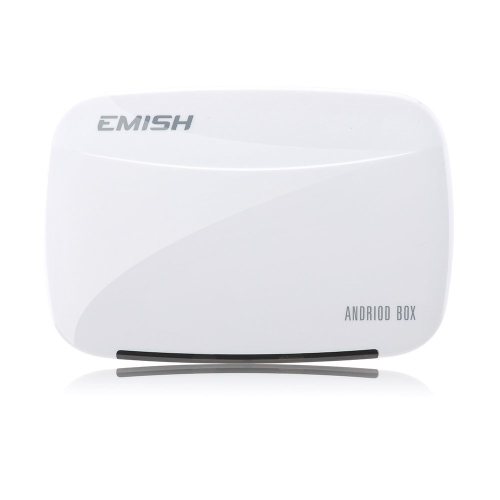 EMISH X700 Android 4.4 Full HD 1080P TV Box Rockchip 3128 Quad-Core 1G / 8G XBMC DLNA Wi-Fi Smart Media Player with Remote Controller