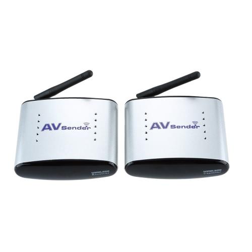 150M PAT-330 2.4G Wireless AV Audio & Video Sender Transmitter & Receiver System for DVD / DVR / IPTV / CCTV Camera / TV